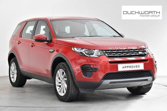 2017 Land Rover Discovery Sport 2.0Td4 SE 2.0TD4 (180ps) Station Wagon Auto (17 reg)