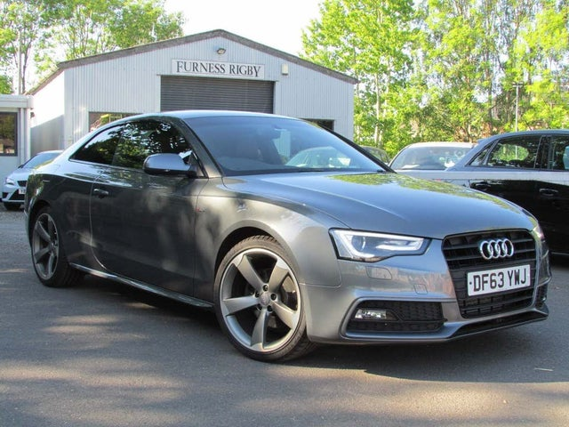 2014 Audi A5 2.0TD Black Edition (177ps) Coupe 2d (63 reg)