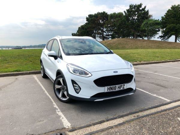 2018 Ford Fiesta 1.0T Active X (125ps) (18 reg)