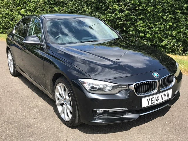 2014 BMW 3 Series 2.0TD 320d Luxury Saloon 4d Auto (14 reg)