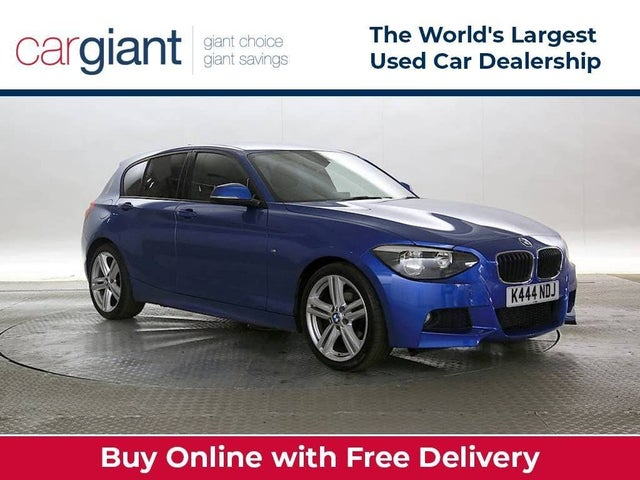 2014 BMW 1 Series 2.0TD 116d M Sport (s/s) Sports Hatch 5d Auto (44 reg)