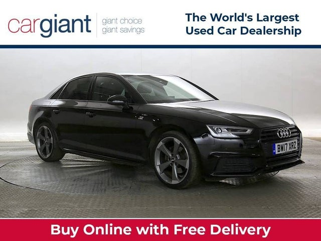 2017 Audi A4 1.4 TFSI Black Edition (17 reg)