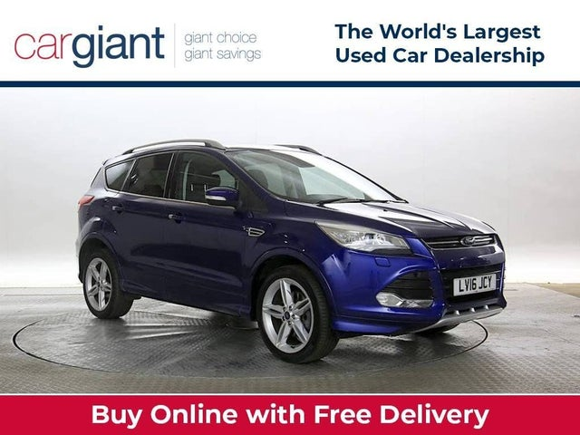 2016 Ford Kuga 2.0TDCi Titanium X Sport (180ps) (AWD) Powershift (16 reg)