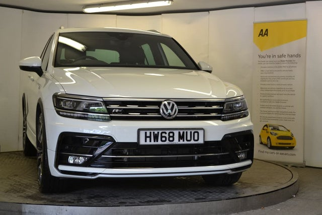 2019 Volkswagen Tiguan 2.0TDI R-Line Tech (150ps) (68 reg)
