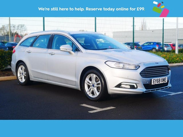 2018 Ford Mondeo 2.0TDCi Zetec Edition Estate Powershift (68 reg)