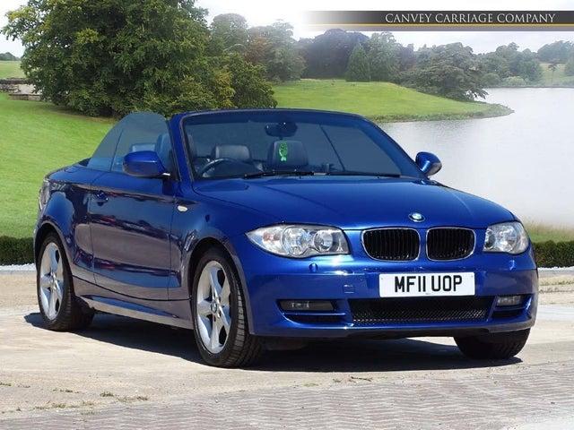 2011 BMW 1 Series 2.0TD 118d SE Convertible 2d auto (11 reg)