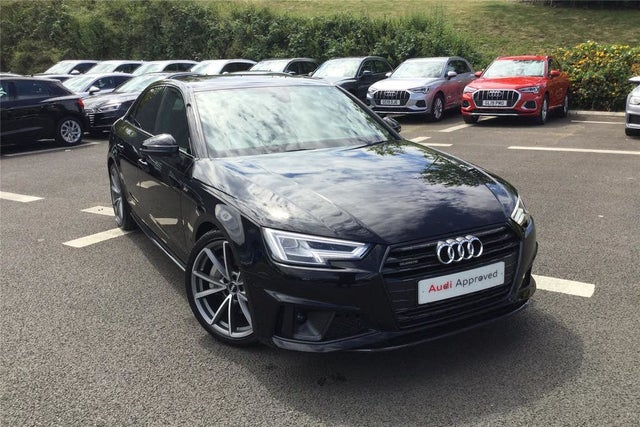 2019 Audi A4 2.0 45 TFSI Black Edition (19 reg)