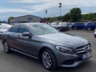 2016 Mercedes-Benz C-Class 2.1d C220d Sport (170ps) (Premium)(s/s) Saloon 4d 9G-Tronic Plus (66 reg)