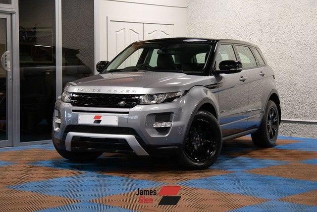 2013 Land Rover Range Rover Evoque 2.2TD Dynamic Hatchback 5d auto (63 reg)