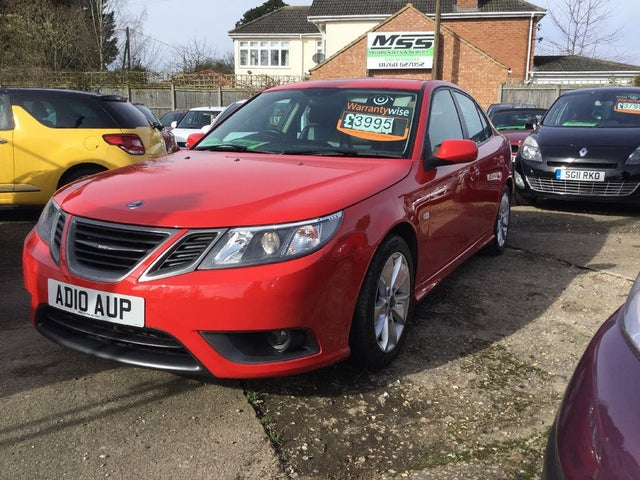 2010 Saab 9-3 1.9TD Turbo Edition 1.9TiD (120ps) Saloon 4d (10 reg)
