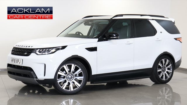 2018 Land Rover Discovery 3.0TD6 HSE Luxury (18 reg)