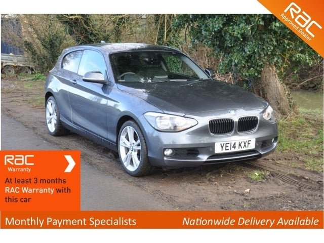 2014 BMW 1 Series 2.0TD 120d SE (184bhp) Blue Performance (s/s) Sports Hatch 3d (14 reg)