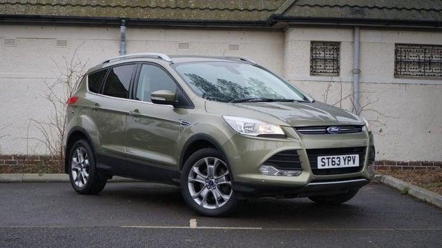 2018 Ford Kuga 2.0TDCi Titanium (180ps) (AWD) (03 reg)