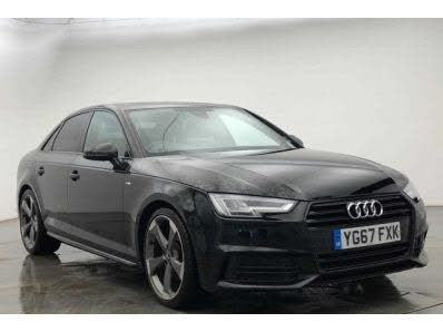 2017 Audi A4 1.4 TFSI Black Edition (67 reg)