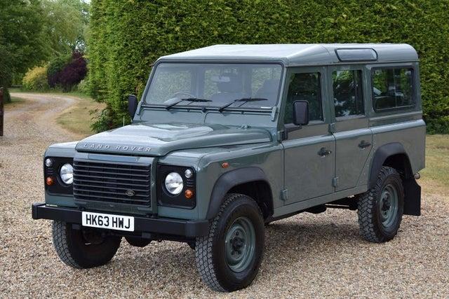 2013 Land Rover 110 Defender (63 reg)