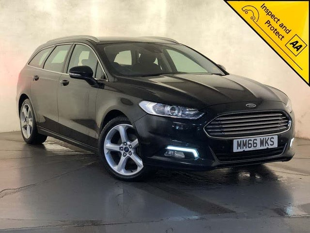 2017 Ford Mondeo 2.0TDCi Titanium Edition (150ps) Titanium ECO Estate (66 reg)