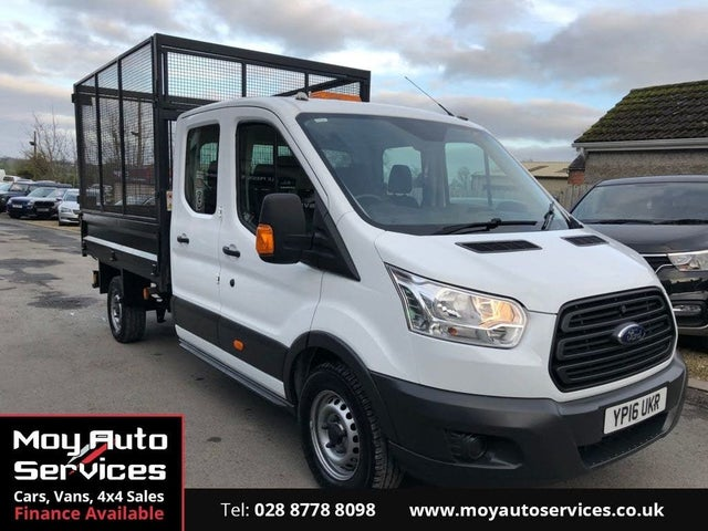 2016 Ford Transit 2.2TDCi 350 L3H1 (125PS) RWD Double Cab Chassis (16 reg)