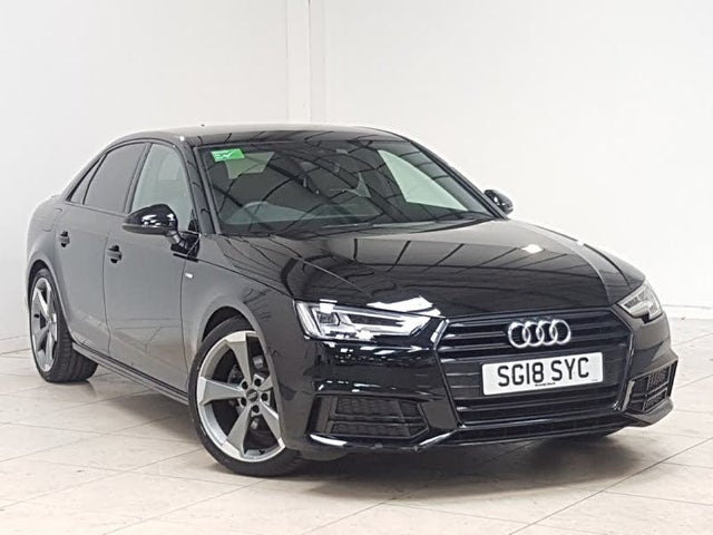 2018 Audi A4 1.4 TFSI Black Edition (18 reg)