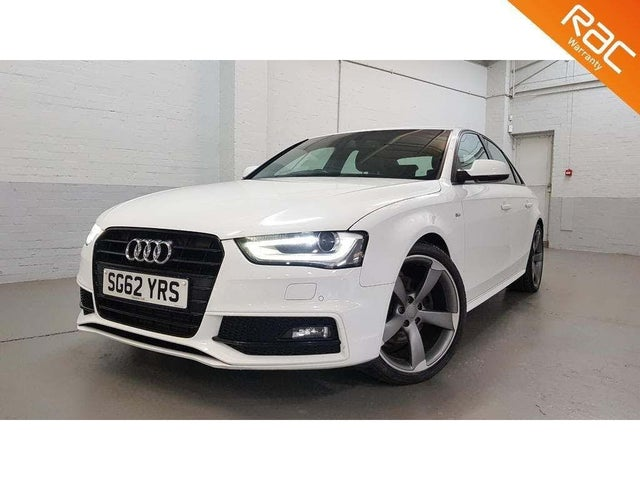 2012 Audi A4 1.8 Black Edition TFSI (170ps) (62 reg)