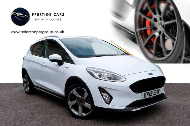 2019 Ford Fiesta 1.0T Active X (140ps) (19 reg)
