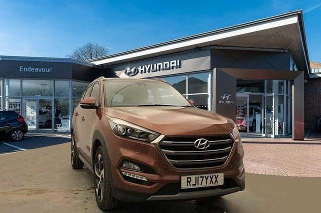 2017 Hyundai Tucson 2.0CRDi Premium (136ps) Auto (17 reg)
