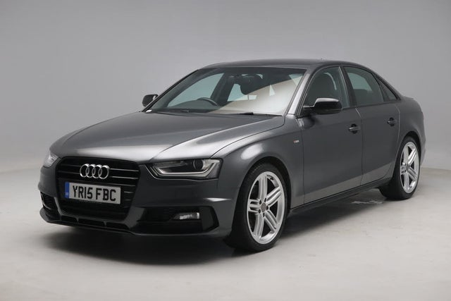 2015 Audi A4 2.0TD Black Edition PLUS (177ps) Multitronic (15 reg)