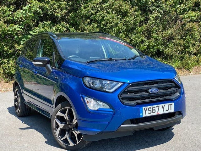 2017 Ford EcoSport 1.0T ST-Line (140ps) (67 reg)