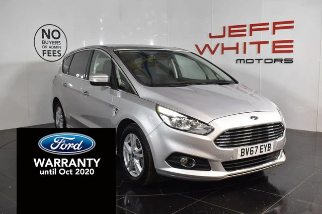 2017 Ford S-MAX 2.0TDCi Titanium (180ps) Powershift (67 reg)