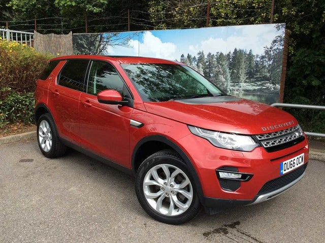 2016 Land Rover Discovery Sport 2.0Td4 HSE (180ps) (s/s) Auto (66 reg)
