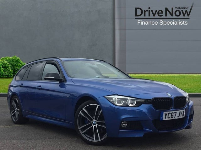 2017 BMW 3 Series 2.0TD 320d M Sport Shadow Edition Touring 5d Auto (67 reg)