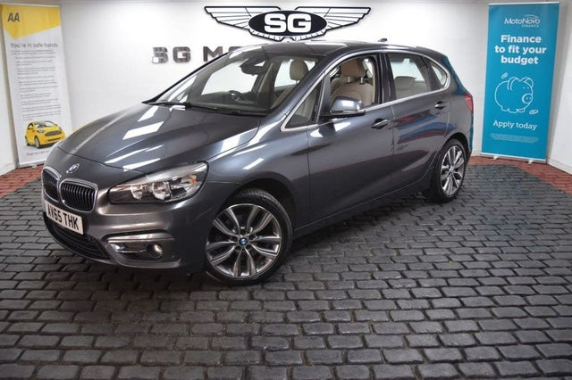 2015 BMW 2 Series 2.0TD 220d Luxury Active Tourer 5d Auto (65 reg)