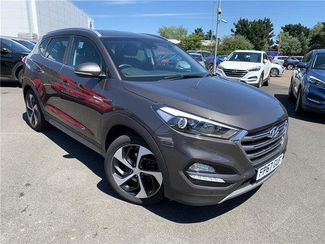 2017 Hyundai Tucson 1.7CRDi Blue Drive Sport Edition (141ps) DCT (67 reg)