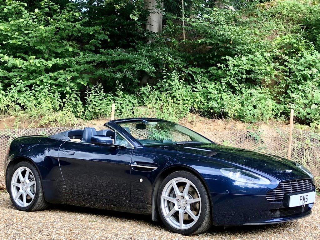Aston Martin Vantage 4 3 Roadster Convertible Sportshift For Sale In Bristol Cargurus