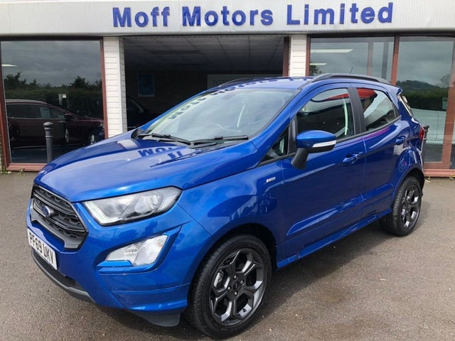 2019 Ford EcoSport 1.0T ST-Line (125ps) Auto (69 reg)