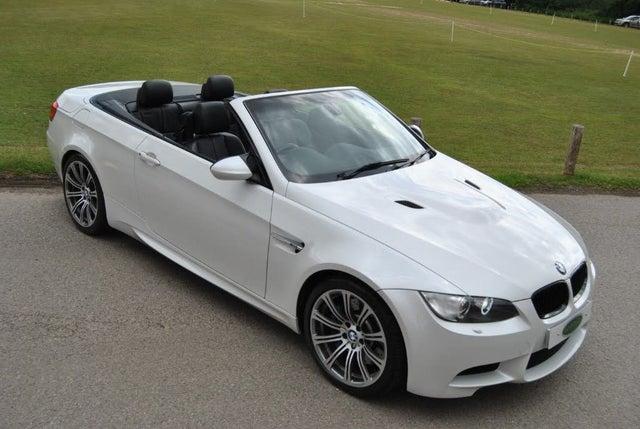 2012 BMW 3 Series 4.0 M3 Convertible 2d DCT (0X reg)