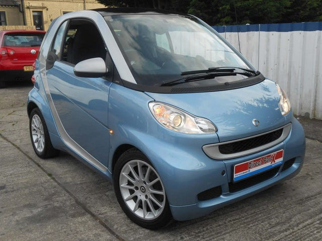 2010 Smart fortwo 0.8TD Passion Coupe Softouch (60 reg)