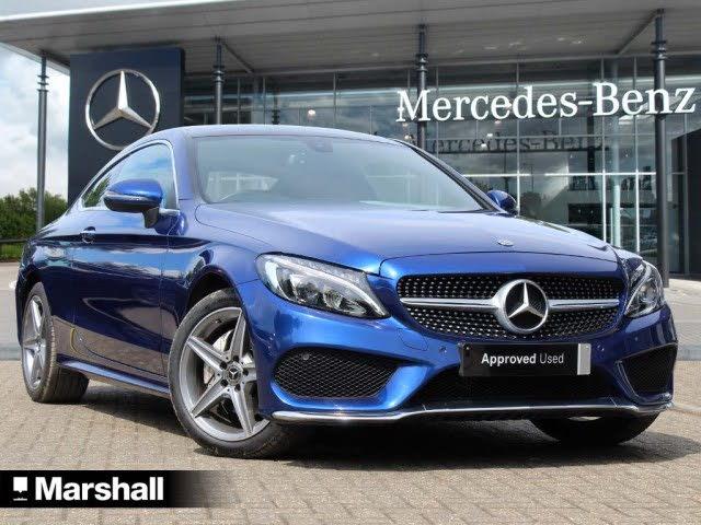 2017 Mercedes-Benz C-Class 2.0 C200 AMG Line (Premium)(s/s) Coupe 2d 9G-Tronic Plus (67 reg)