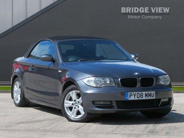 2008 BMW 1 Series 2.0 118i SE Convertible 2d (08 reg)