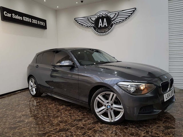 2014 BMW 1 Series 2.0TD 120d M Sport (184bhp) (s/s) Sports Hatch 5d Auto (14 reg)