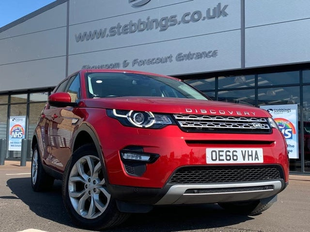 2017 Land Rover Discovery Sport 2.0Td4 HSE 2.0TD4 (180ps) Station Wagon (66 reg)