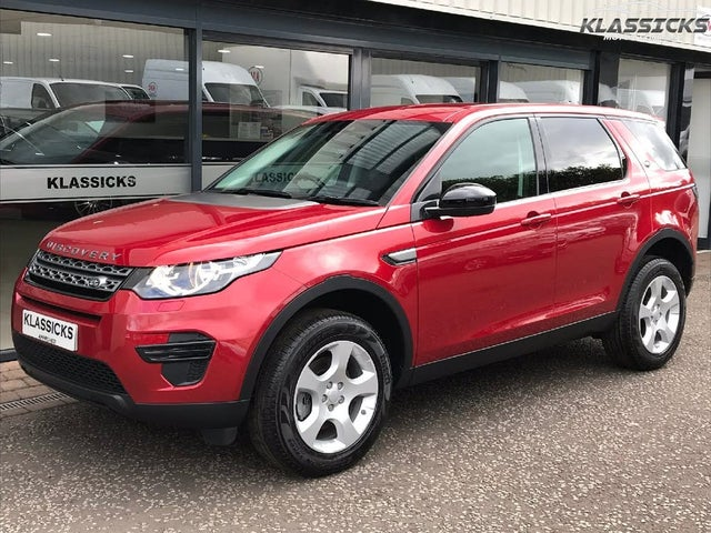 2018 Land Rover Discovery Sport 2.0eD4 PURE (68 reg)