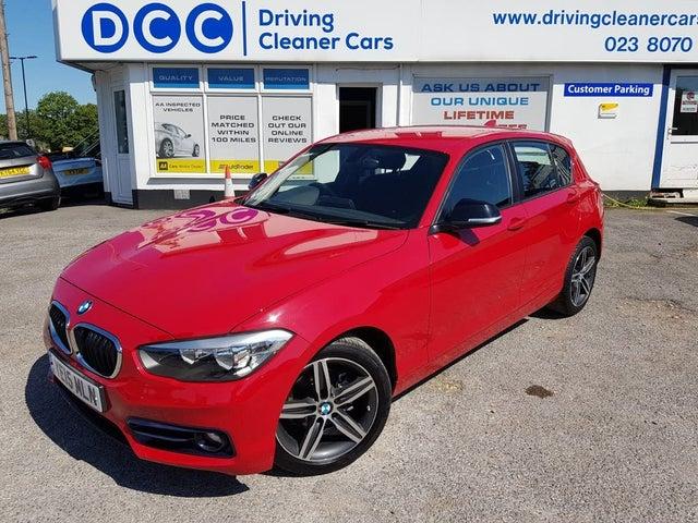 2015 BMW 1 Series 2.0TD 118d Sport (150bhp) 5d Auto (15 reg)