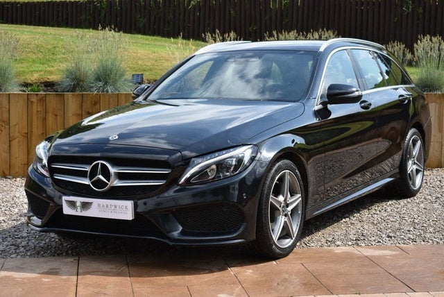 2018 Mercedes-Benz C-Class 2.1d C220d AMG Line (s/s) Estate 5d 9G-Tronic Plus (18 reg)