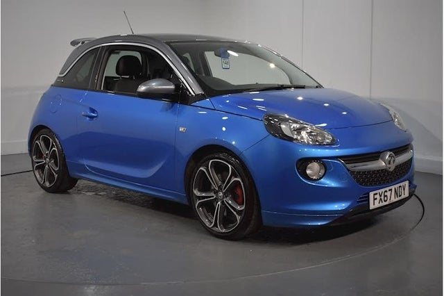 2017 Vauxhall ADAM 1.4i Turbo S (67 reg)