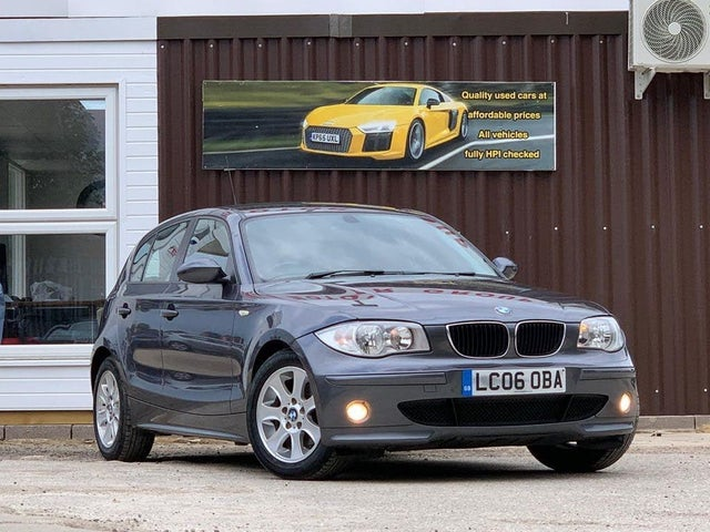 2006 BMW 1 Series 2.0 118i SE auto (06 reg)