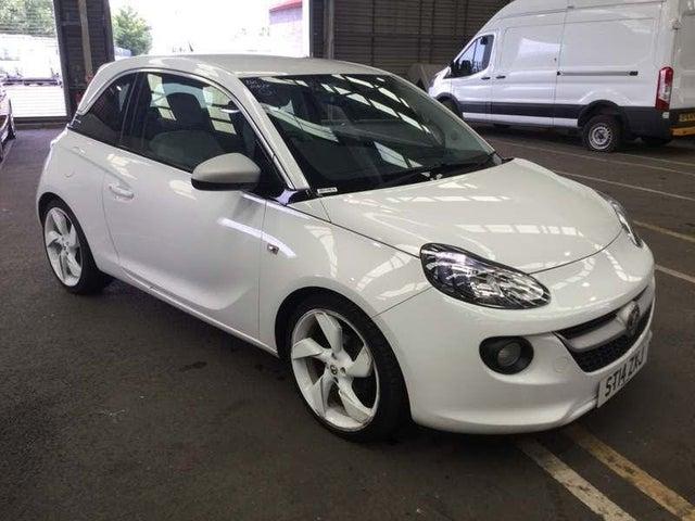 2014 Vauxhall ADAM 1.4 SLAM White Edition (14 reg)