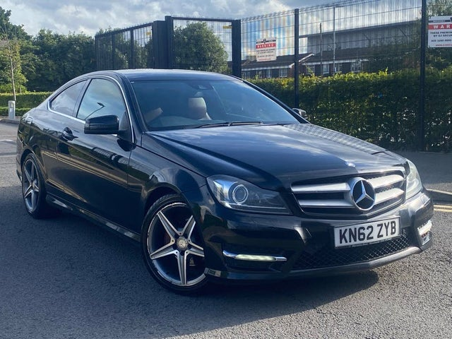 2012 Mercedes-Benz C-Class 2.1TD C250 CDI AMG Sport CDI BlueEFFICIENCY Coupe 2d Auto (4O reg)