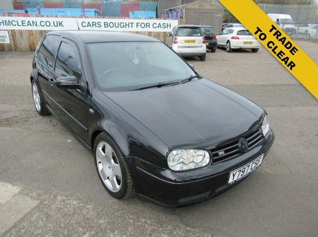 2001 Volkswagen Golf 2.8 V6 4Motion 3d