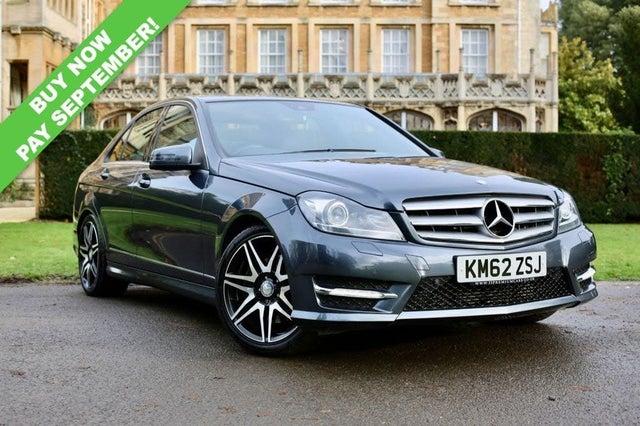 2012 Mercedes-Benz C-Class 3.0TD C350 CDI AMG Sport Plus (M Pilot) 3.0CDI Blue F Saloon 4d (62 reg)