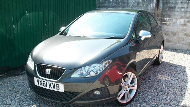 2011 Seat Ibiza 1.6TD Sportrider CR SportCoupe Hatchback 3d (61 reg)